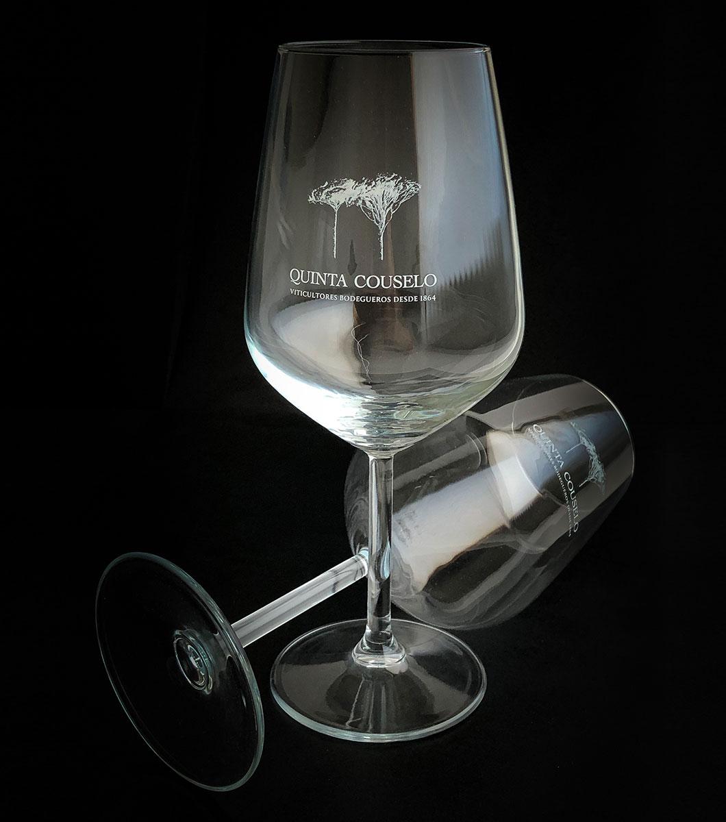 Copas de vidrio Quinta de Couselo